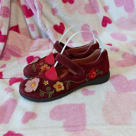 Туфли балетки kenzo 32p кожа