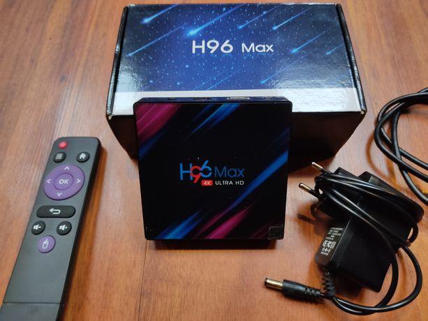 Tv Box H96 Max 4K 4/32