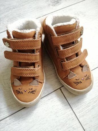 Śliczne buty adidasy next z ogonkami, r. 21,5