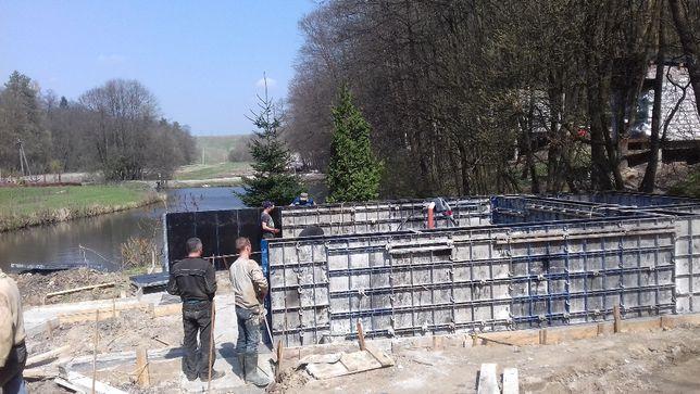 Фундамент,басейн, колони бетонні (монолітні) перекриття,підпірні стіни