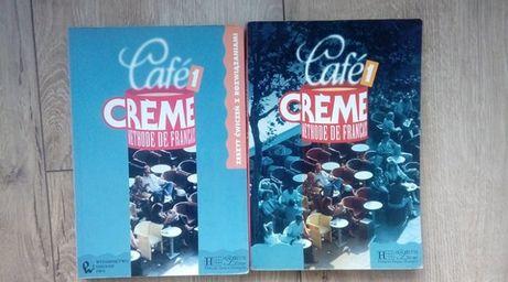 CAFE CREME Methode de Francais 1 - podręcznik + ćwiczenia