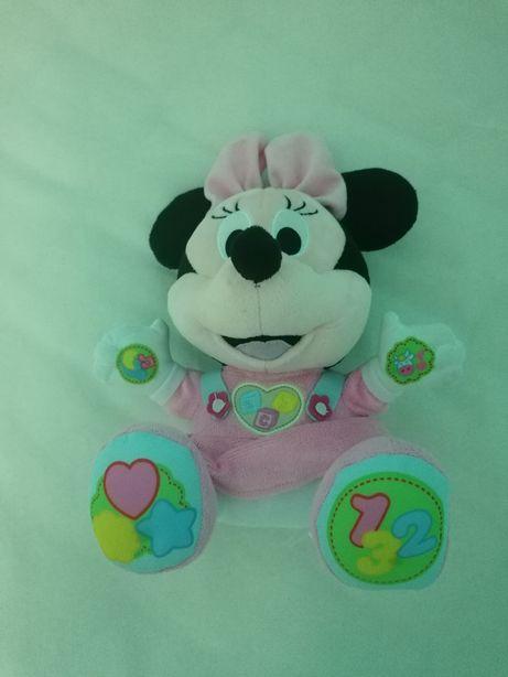 Brinquedo Macio Educativo Baby Minnie Clementoni