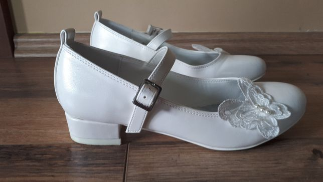 Buty komunijne rozmiar 35 dla dziewczynki