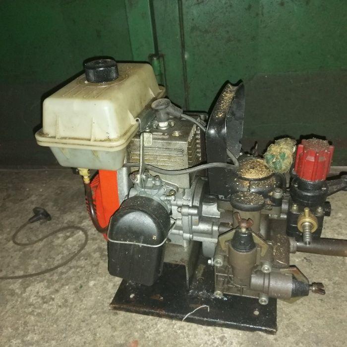 Motor com bomba para carrinho de mão de sufatar
