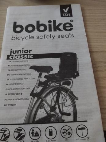 Siodełko na rower do 35 kg