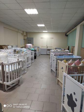 Детская кроватка кровать маятник ящик в наличии в Запорожье