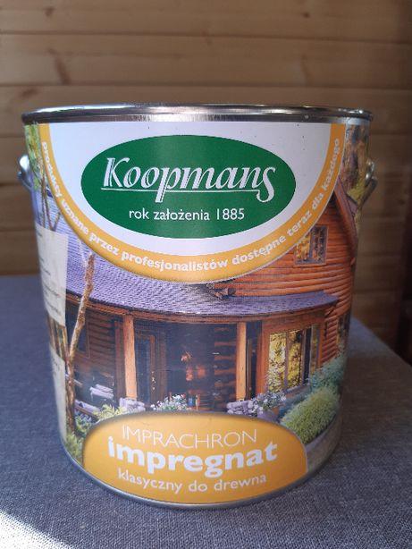 Impregnat do drewna, Imprachron, Koopmans, szpachla