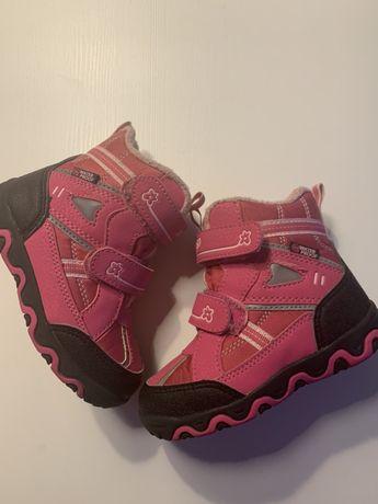 Buty zimowe dziewczęce roz.25
