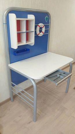 Детская мебель - кровать+ матрас, шкаф, стол, б/у