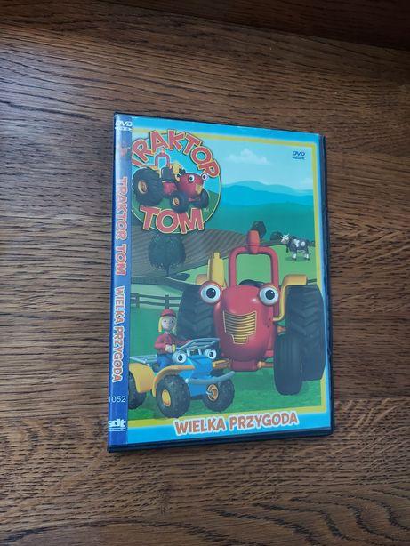 Traktor Tom - Wielka przygoda. DVD. Polska wersja. Wysyłka.