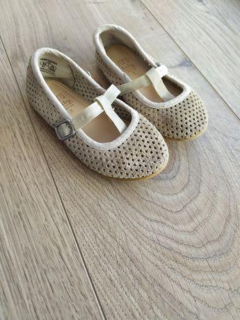 Шкіряні туфелькии Zara.Кожаные туфли 21роз