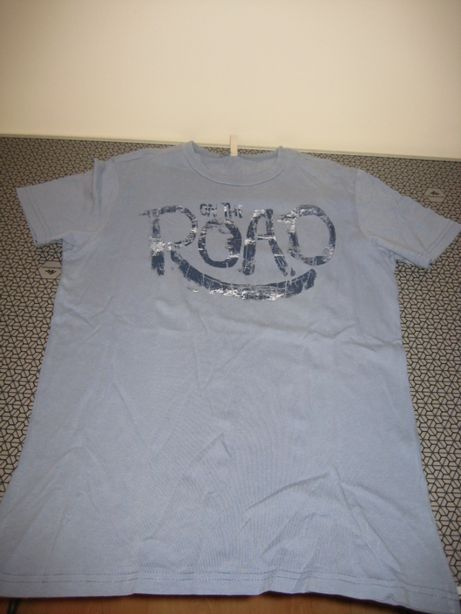 T-Shirt Azul Benetton Menino 12 Anos.