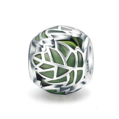 CHARMS srebro 925 do Pandora Apart Zawieszka - liść, drzewo życia