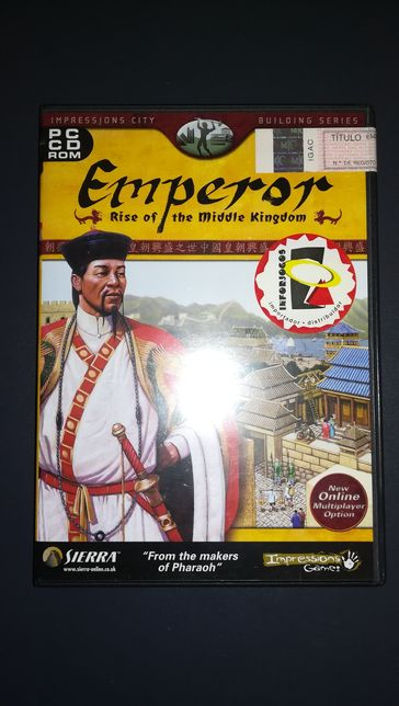 "Jogo PC ""Emperor - Rise of Middle Kingdom"" (Óptimo Estado)"