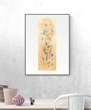 minimalizm grfika, sypialnia grafika, złota abstrakcja, złoty obraz