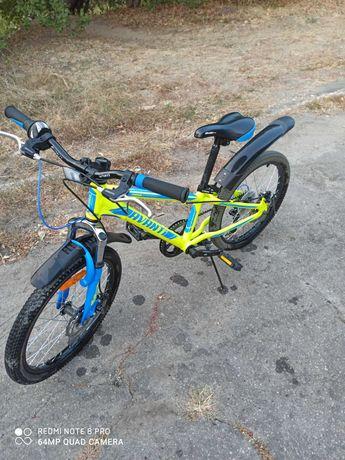Спортивный детский алюминиевый велосипед Avanti Turbo 20 VB (2018)