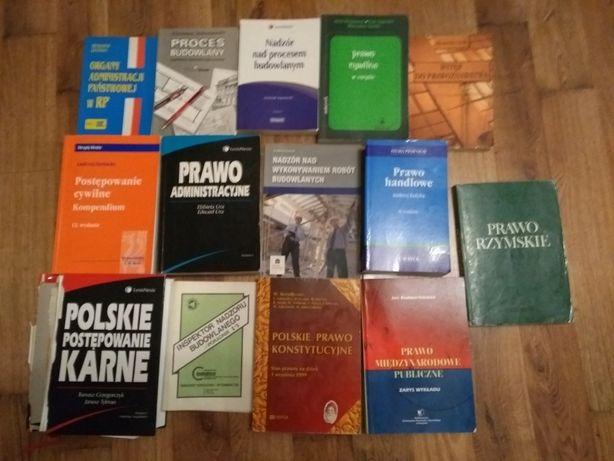 Książki, podręczniki, prawo