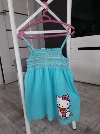 Sukienka Hello Kitty rozmiar 116