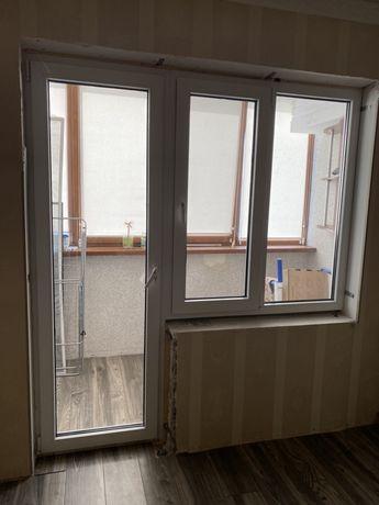 Металопластиковое Окно и даерь rehau