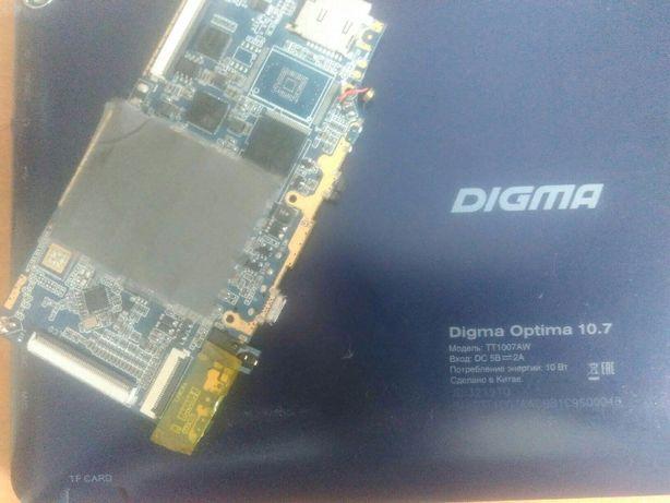 Системная плата INET-D102C-REV01 для планшета Digma Optima 10.7 (TT100