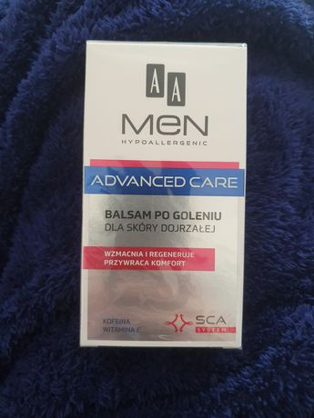 AA men advanced care balsam po goleniu