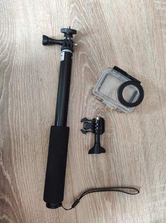 Obudowa wodoszczelna + monopod do kamery xiaomi mija