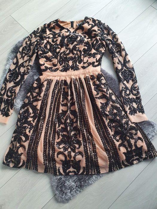 Sukienka na święta wizytowa koktajlowa Niumi r. 32 XS Katowice - image 1