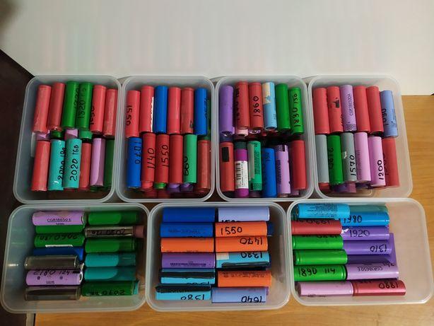 Liion 18650 акумулятори з ноутбуків