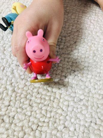 Świnka Peppa 2 figurki Orginalne