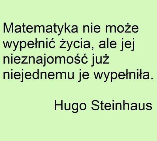 Matematyka - szkoła, matura, studia- mgr UJ, skype/ Bieńczyce/ dojazd