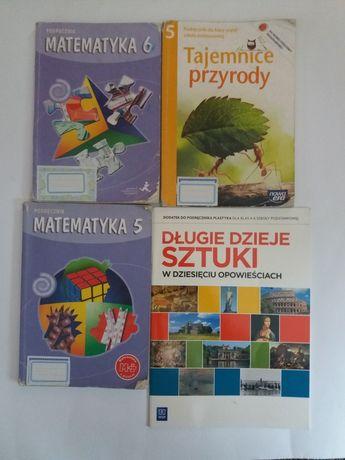 Podręczniki Matematyka 5 i 6 oraz Przyroda 5