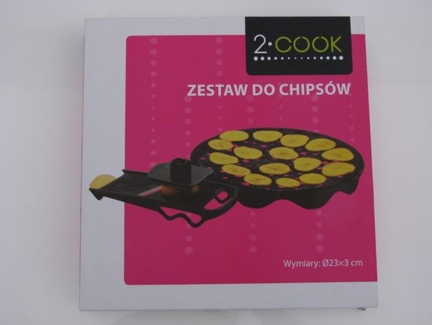 Chipsy - zestaw do chipsów 2-cook wym. średn. 23cm