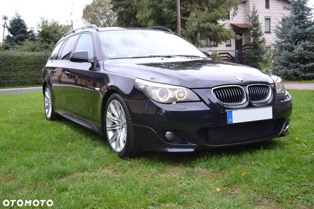 BMW Seria 5 E61 M Pakiet*530d*LCI*2009*Navi CIC*SPORT ŁOPATKI *Komforty*Panorama