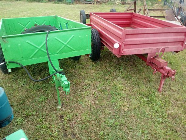 Przyczepka OGRODNICZA wywrotka do traktorek dzik tz4k14 tv521 kubota