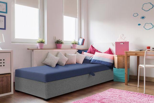 Łóżko młodzieżowe dziecięce Tapczan hotelowy jednoosobowy Promocja
