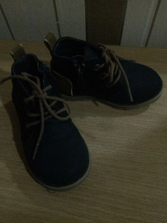 стильные ботиночки на мальчика 23 размера