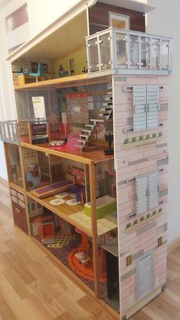 Domek dla lalek Barbie kindercraft duży xxl