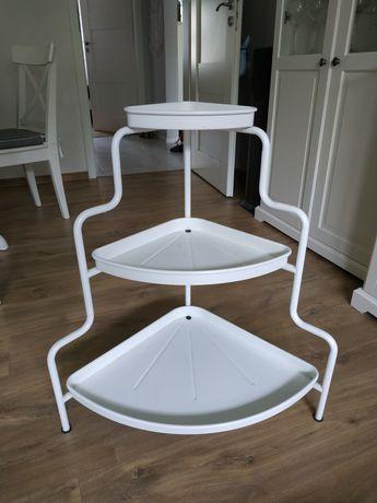 Półka metalowa z IKEA (kwietnik)