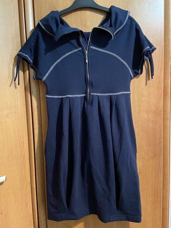 Sukienka ciążowa dwustronna