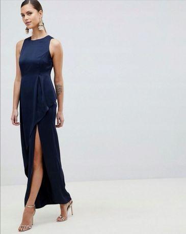 Długa sukienka marki ASOS rozm. XS