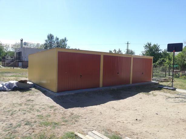 Garaż blaszany 10x5 10x6 10x7 garaż z płyty warstwowej,schowki ,wiaty