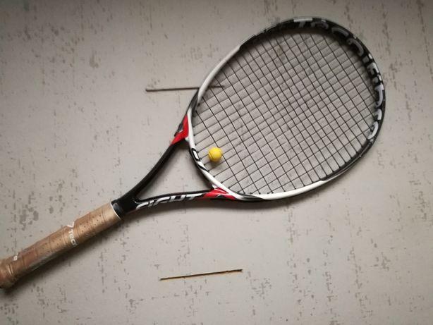 Rakieta tenisowa dla dzieci (135 cm) TECNIFIBRE T-FIGHT 67 z pokrowcem