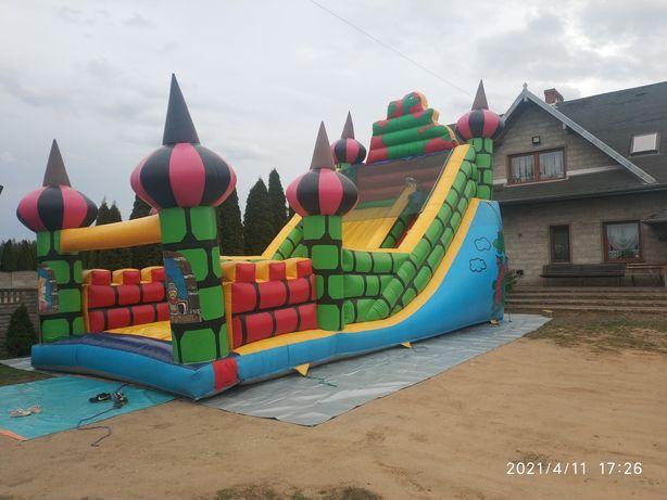 Zjeżdżalnia dmuchana zamek namioty imprezowe wata konkurencyjne ceny