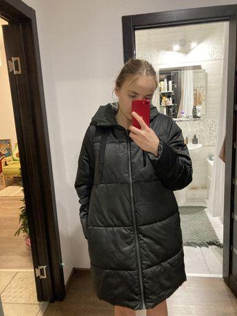 зимняя куртка-трансформер zara новая
