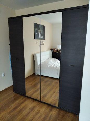 Szafa 4- drzwiowa z lustrami duża Affi, BRW meble salon sypialnia