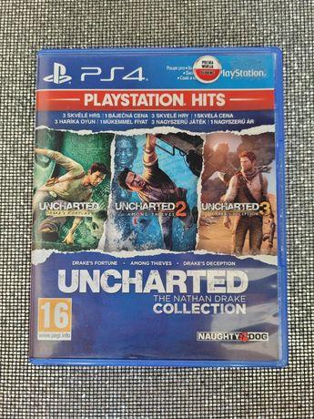 Gra Uncharted 1,2,3 Kolekcja Nathana Drake PL Ps4 PlayStation 4