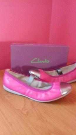 Nowe buty baleriny Clarks 3F 35.5