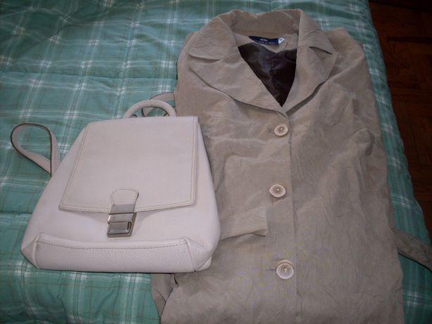 Conjunto gabardine e mochila