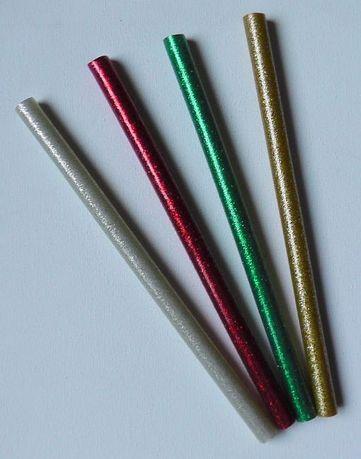 Klej silikonowy w laskach do pistoletu na klej na gorąco różne 7mm 11m