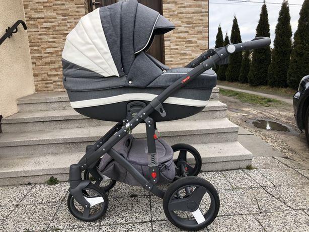 Wózek dziecięcy Adamex Vicco Carmel & Grey 2w1